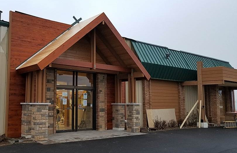 ECI Recently Completed Work On Chalet Ski And Patio!